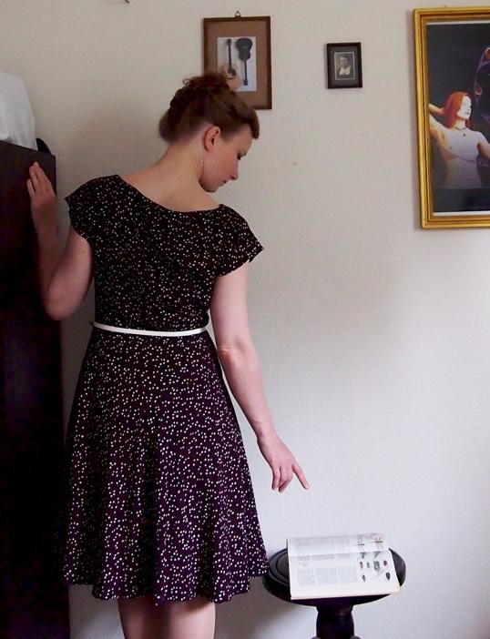Anna Dress braun
