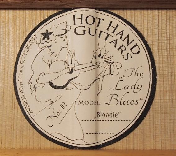 HotHandGuitars Logo