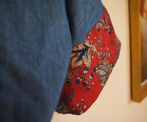 boho sleeve of a dress